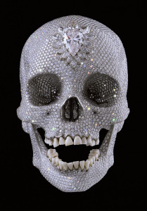 Diamond-Skull-by-Damien-Hirst