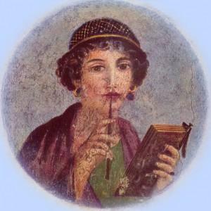 Sappho uit Pompei