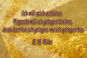 golden paint Rilke