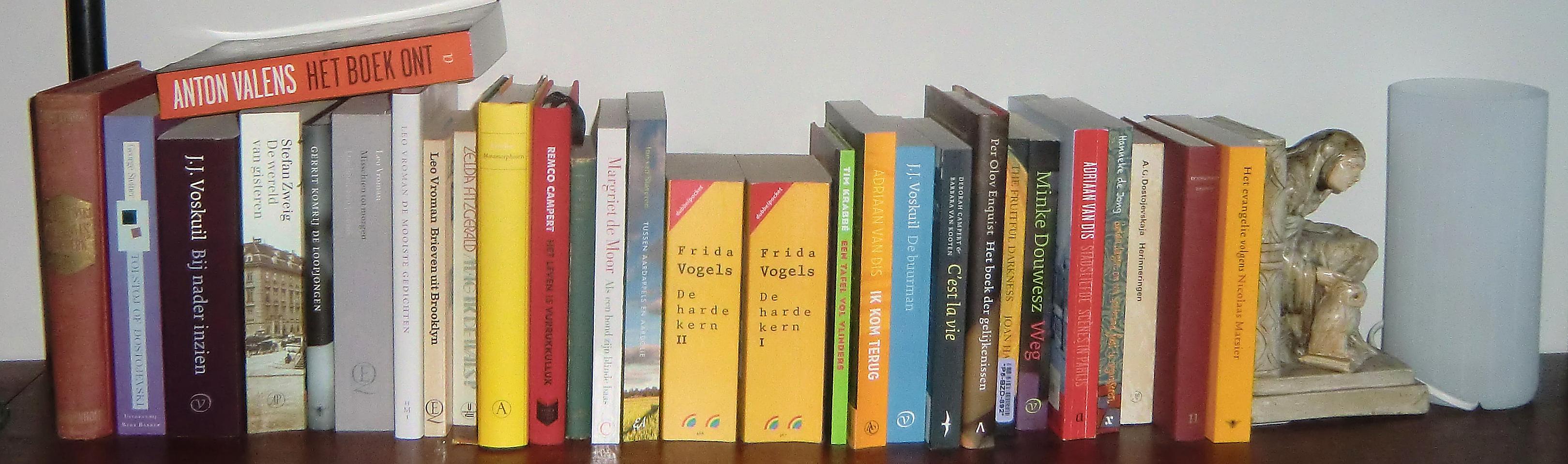 Boekenplank Met Boeken.De Tiende Plank Heldenreis