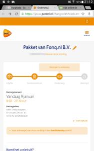 pakket onderweg Screenshot_2016-01-09-21-12-11