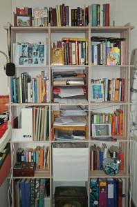 boekenkast schrijfboeken CIMG1940