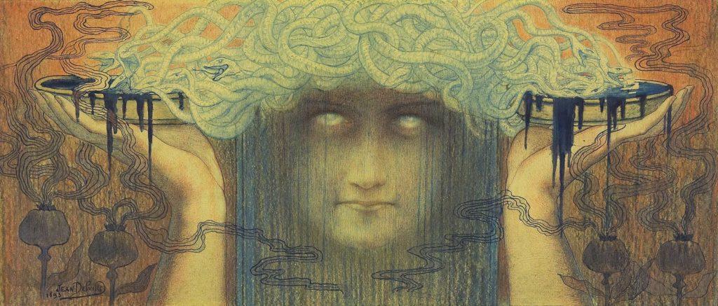 Jean Delville La Meduse 1893